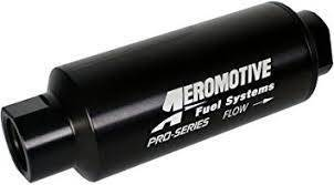 Aeromotive Fuel System - Pro-Series, In-Line Fuel Filter (AN-12) 10 micron fabric element - 12310