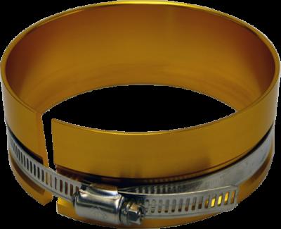 Engine Service - Engine Piston Ring Compressor - Proform - Proform Adjustable Piston Ring Compressor 4.125-4.205 Range Gold Aluminum Material 66767
