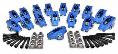 Valve Train Components - Engine Rocker Arm - Proform - Proform Roller Rocker Arm Set 1.6 Ratio 5/16 Stud Pedestal Mount Fits Ford 302HO/351W 66879