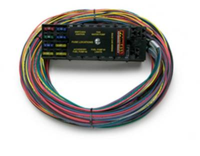 Frame - Chassis Wiring Harness - Painless Wiring - Race Only Chassis Harness-10 Circuits - 50001