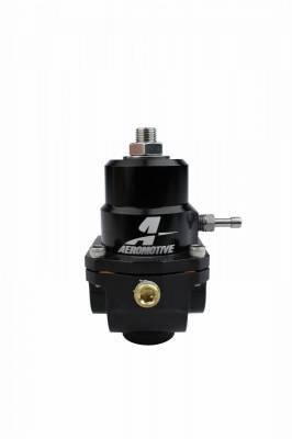 Aeromotive Fuel System - Regulator, Adjustable, 3-15psi, .313 Valve, (2)-08inlets, -08 return - 13304