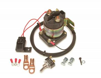 Battery and Related Components - Battery Cut-Off Switch - Painless Wiring - Remote Master Disconnect Kit - 30204