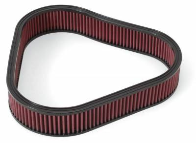 Filters - Air Filter - Edelbrock - Replacement K&N Air Filter for Elite Series Triangular Air Cleaner #4222 - 4226