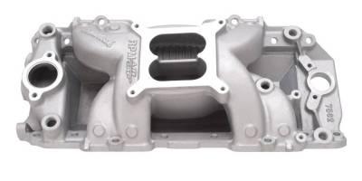 Cylinder Block Components - Engine Intake Manifold - Edelbrock - RPM Air-Gap Big Block Chevy 2-R Intake Manifold - 7562