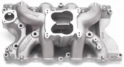 Cylinder Block Components - Engine Intake Manifold - Edelbrock - RPM Air-Gap Big Block Ford 460 Intake Manifold - 7566