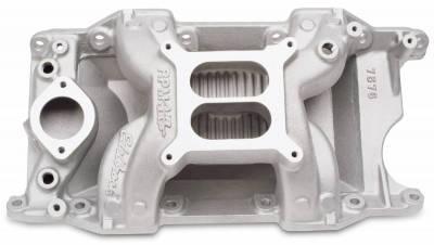 Cylinder Block Components - Engine Intake Manifold - Edelbrock - RPM Air-Gap Small Block Chrysler Intake Manifold - 7576
