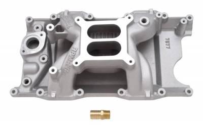 Cylinder Block Components - Engine Intake Manifold - Edelbrock - RPM Air-Gap Small Block Chrysler Magnum Intake Manifold - 7577