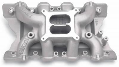 Cylinder Block Components - Engine Intake Manifold - Edelbrock - RPM Air-Gap Small Block Ford 351C Intake Manifold - 7564