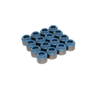 "Set of 16 Metal Viton Valve Seals for .530"" Guide Size, 11/32"" Valve Stem - 529-16"
