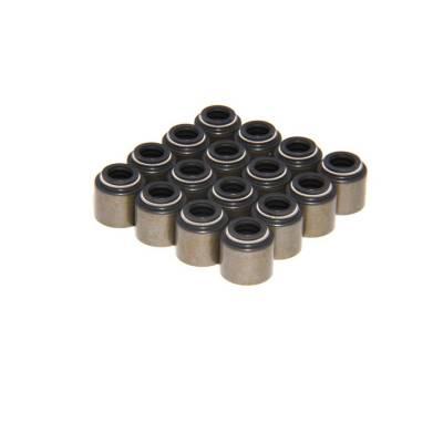 "Set of 16 Steel Viton Valve Seals for .500"" Guide Size, 8mm Valve Stem - 511-16"
