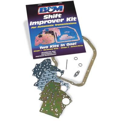 Service Kits - Automatic Transmission Valve Body Kit - B&M - SHIFT IMPROVER KIT 67-91 C6 - 40262