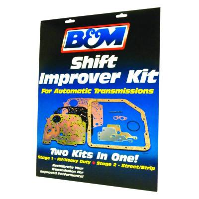 Service Kits - Automatic Transmission Valve Body Kit - B&M - SHIFT IMPROVER KIT 88-94 TH400 - 20261