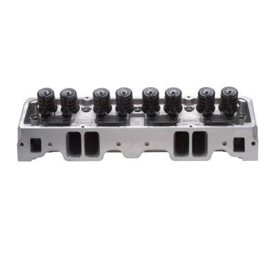 Cylinder Block Components - Engine Cylinder Head - Edelbrock - Small-Block Chevy E-Series Cylinder Head E-210 Flat Tappet Camshaft - 5085