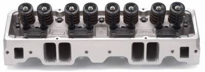 Cylinder Block Components - Engine Cylinder Head - Edelbrock - Small-Block Chevy E-Series Cylinder Head E-210 Hydraulic Roller Cam - 5087