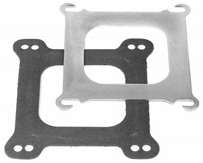 "Carburetion - Carburetor Adapter Plate - Edelbrock - Square-Bore to Spread-Bore Adapter Plate .100"" thick for Edelbrock Manifolds - 2732"