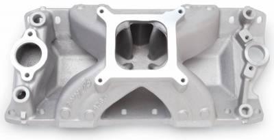 Cylinder Block Components - Engine Intake Manifold - Edelbrock - Super Victor 23 Degree Intake Manifold Small-Block Chevy - 2925