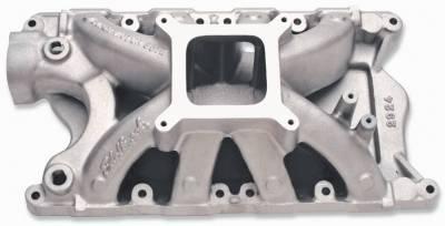 Cylinder Block Components - Engine Intake Manifold - Edelbrock - Super Victor 351W Intake Manifold Small-Block Ford - 2924