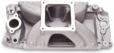 Cylinder Block Components - Engine Intake Manifold - Edelbrock - Super Victor BBC Intake Manifold - 2927