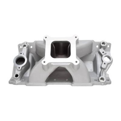 Cylinder Block Components - Engine Intake Manifold - Edelbrock - Super Victor II 23 Degree Intake Manifold Small-Block Chevy - 2892
