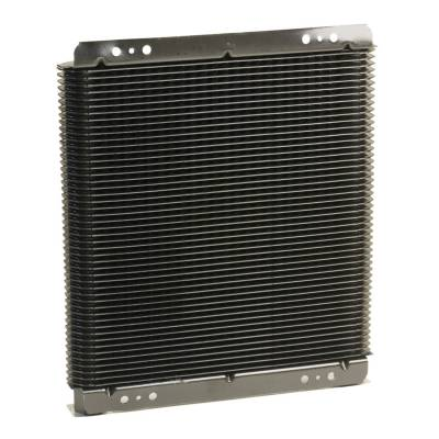 Radiators, Coolers and Related Components - Automatic Transmission Oil Cooler - B&M - SUPERCOOLER 11X11X1-1/2,1/2 NPT FI - 70274