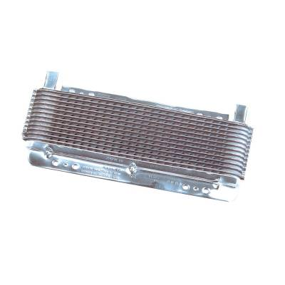Radiators, Coolers and Related Components - Automatic Transmission Oil Cooler - B&M - SUPERCOOLER POLISHED - 70265