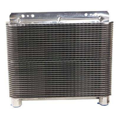 Radiators, Coolers and Related Components - Automatic Transmission Oil Cooler - B&M - SUPERCOOLER POLISHED - 70272