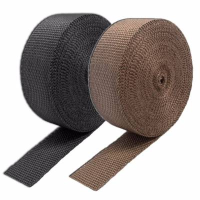 Brackets, Flanges and Hangers - Exhaust Heat Shield - Thermo Tec - Thermo Tec Exhaust Wrap 50 Foot x 1 Inch Carbon Fiber Up To 1800 Degree F Rogue Series - 11041