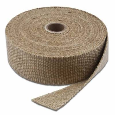 Brackets, Flanges and Hangers - Exhaust Heat Shield - Thermo Tec - Thermo Tec Exhaust Wrap 50 Foot x 1 Inch Natural Color Up To 2000 Degree F Short Roll - 11001