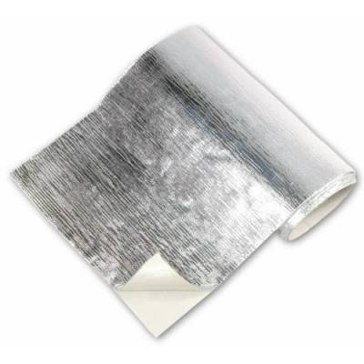 Thermo Tec Heat Barrier 12 Inch x 12 Inch Up to 2000 Degree F Silver Adhesive Backed - 13500
