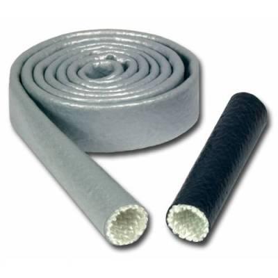 Thermo Tec - Thermo Tec Heat Sleeve 1/2 Inch x 3 Foot Braided Fiberglass 500-2200 Degree F Black - 18050