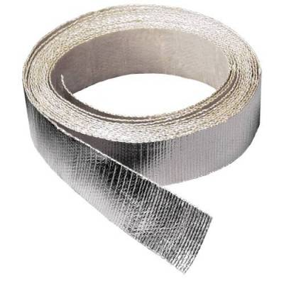 Brackets, Flanges and Hangers - Exhaust Heat Shield - Thermo Tec - Thermo Tec Hose/Wire Heat Shield Tape 15 Foot x 1 1/2 Inch Up To 2000 Degree F Adhesive Backed - 14002