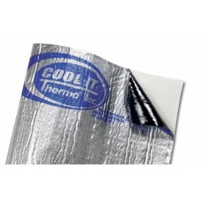 Thermo Tec - Thermo Tec Suppressor Heat and Sound Film 60 Inch x 36 Inch Silver Up to 2000 Degree F 2 PC - 14620