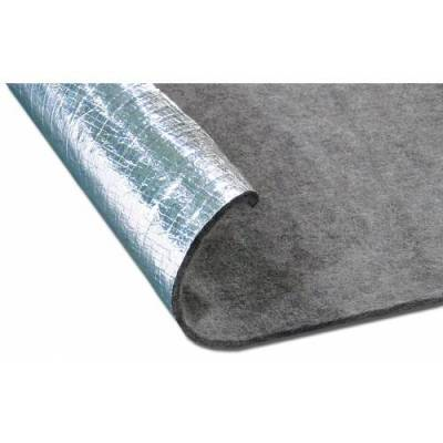 Floor - Thermal Acoustic Insulation - Thermo Tec - Thermo Tec Thermo Guard Heat/Sound Insulation 48 x 72 Inch Two Sided - 14125