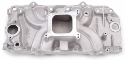 Cylinder Block Components - Engine Intake Manifold - Edelbrock - Torker II 2-O Big Block Chevy Intake Manifold - 5061