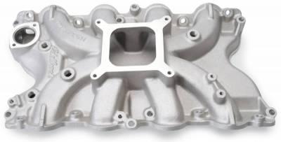 Cylinder Block Components - Engine Intake Manifold - Edelbrock - Torker II 460 Big Block Ford Intake Manifold - 5066