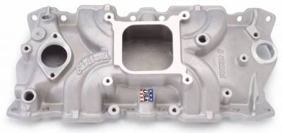 Cylinder Block Components - Engine Intake Manifold - Edelbrock - Torker II Intake Manifold Small-Block Chevy - 5001