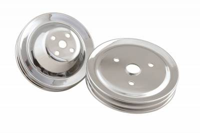 Trans-Dapt Performance Chrome Timing Tab (only)- 1965-90 Chevy 396-454 (8 in. balancers) 4961