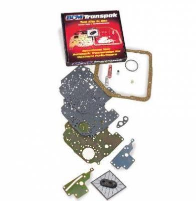 Service Kits - Automatic Transmission Valve Body Kit - B&M - TRANSPAK 67-91 C6 - 40228