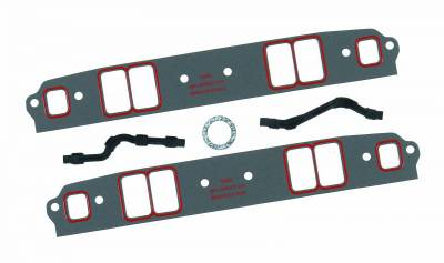 Gaskets and Sealing Systems - Engine Intake Manifold Gasket - Mr Gasket - U/S INT GSKT SB CHEV MED - 5822