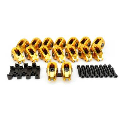 Service Kits - Engine Rocker Arm Kit - COMP Cams - Ultra-Gold ARC Rocker Set w/ 1.82 Ratio for Pedestal Mount GM LS3/L92 - 19029-16