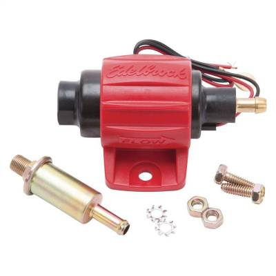 Fuel Pumps and Related Components - Electric Fuel Pump - Edelbrock - Universal Micro Electric Fuel Pump - 38 GPH / 144 LPH (Gasoline/E85) - 17301