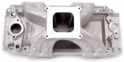 Cylinder Block Components - Engine Intake Manifold - Edelbrock - Victor Jr. 454-R Intake Manifold Big-Block Chevy - 2902