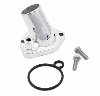 Thermostat and Housing - Engine Coolant Thermostat Housing - Mr Gasket - WATER NECK,SB FORD O-RING - 2662