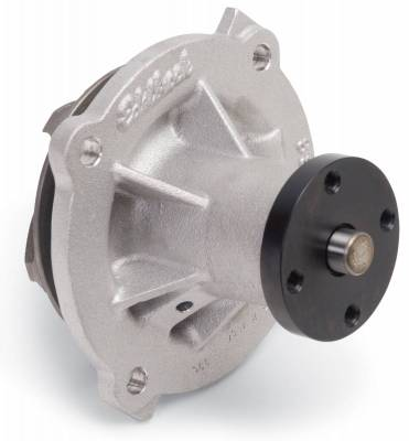 Water Pump and Related Components - Engine Water Pump - Edelbrock - Water Pump for Big-Block Chrysler in Satin Finish (Short) - 8814