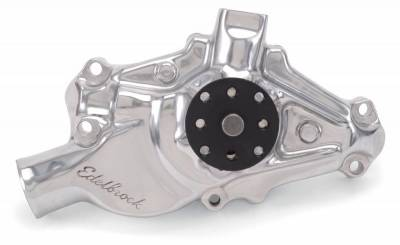 Water Pump for Small-Block Chevy in Polished Finish (Short) - 8820