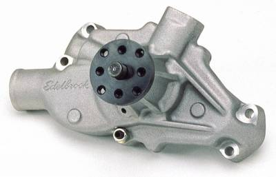 Water Pump for Small-Block Chevy in Satin Finish (Short) - 8810