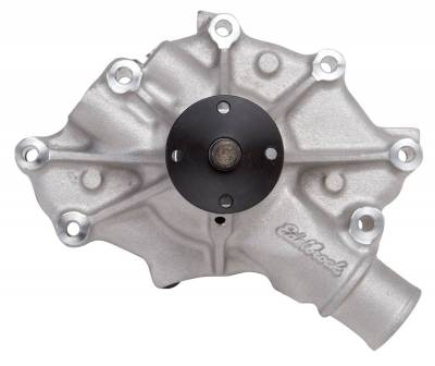 Water Pump and Related Components - Engine Water Pump - Edelbrock - Water Pump Ford 5.0L Late Model - 8045