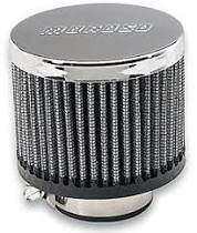 Crankcase Ventilation System - Engine Crankcase Breather Cap - Moroso - Moroso Breather, Clamp-On, No Hood - 68816