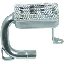 Cylinder Block Components - Engine Oil Pump Pickup Tube - Moroso - Moroso Pickup, Oil Pump, Small Block Chevy - 24340