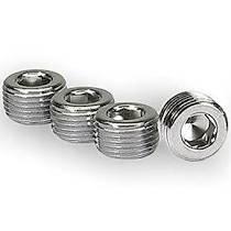 Hardware - Pipe Plug - Moroso - Moroso Plugs, Chrome, 3/8 in. Npt - 39152
